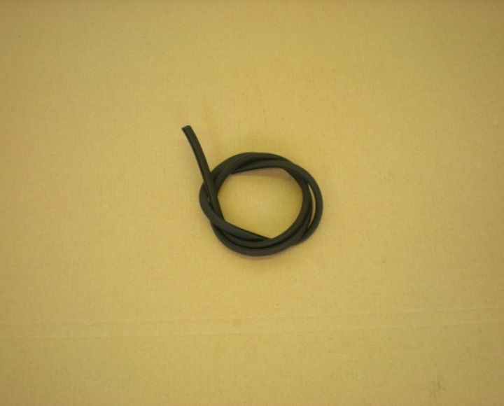Lemovka okolo skriniek,čierna -75cm