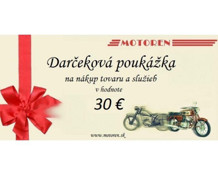 Darčeková poukážka v hodnote 30 € ad870c562b0