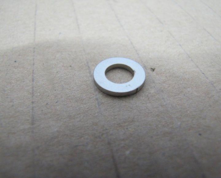 Podložka skrutky hlavy válca 13,7x7,5mm, nerez - ČZ 125 B,T