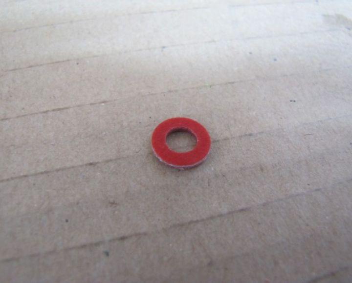 Fíbrová podložka 12x6x1,5mm
