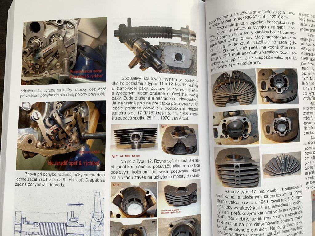 Manet, Tatran et autres véhicules slovaques C-item-28722--kniha-sportove-motocykle-tatran-a5-400-stran
