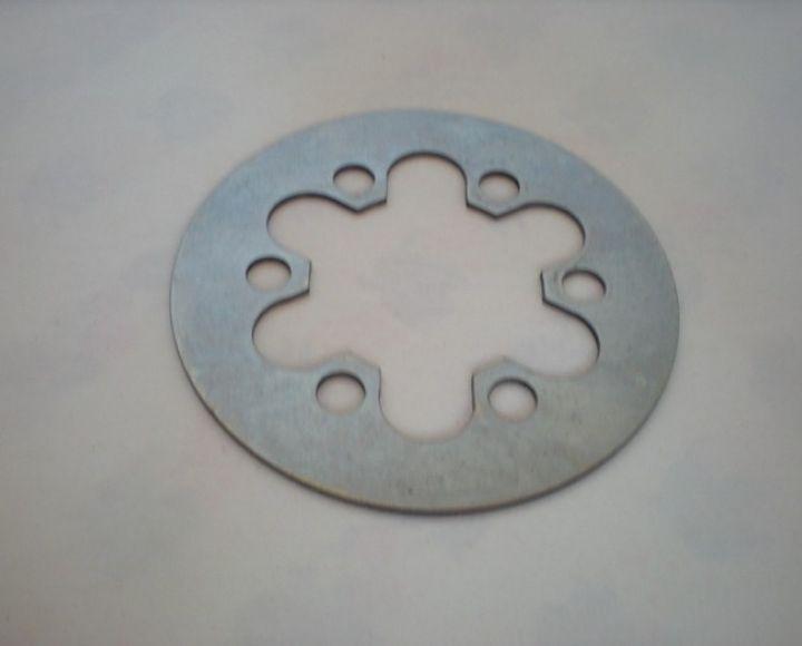 Lamela spojky, plechová - ČZ 125,150 B,T,C
