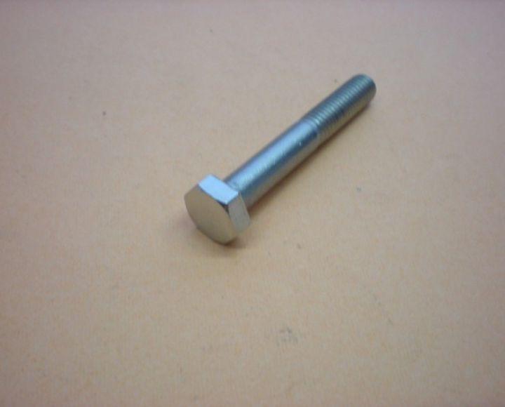 Skrutka M8x55,čiast. závit,na kľúč 13mm,nerez leštený