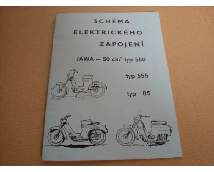 Schema El Zapojenia 20str Jawa 550 555 05