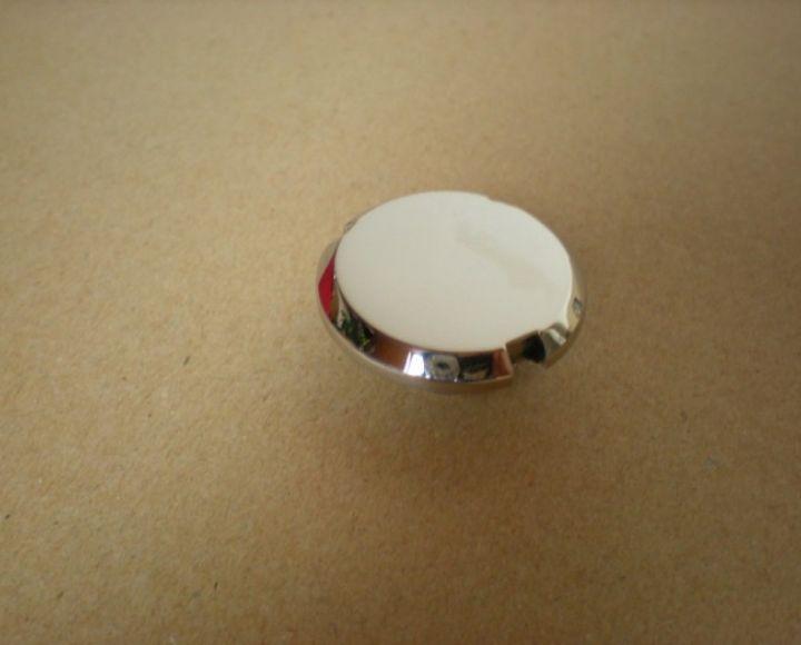Skrutka-zátka predného klzáku vrchná, nerez leštený - Manet 90