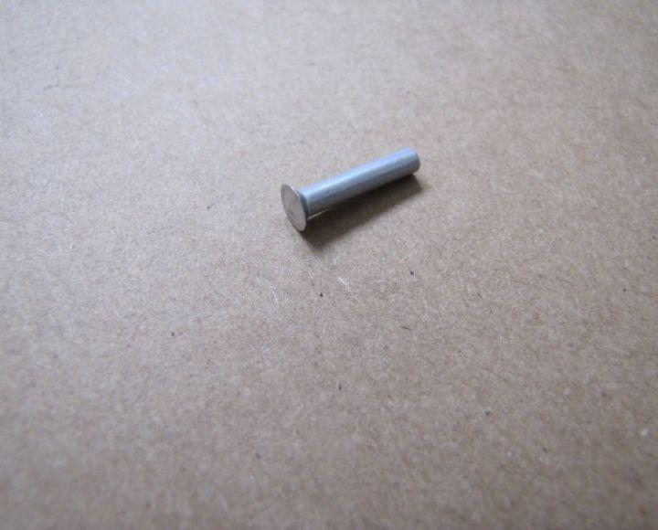 Nit, hliník 3x16mm, zapustená hlava
