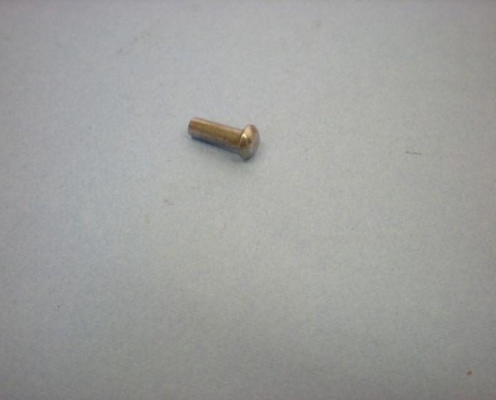 Nit, oceľový 4x12mm, polguľatá hlava