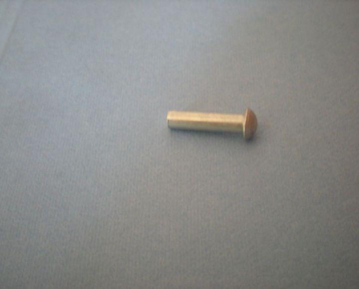 Nit, hliník 4x16mm, polguľatá hlava