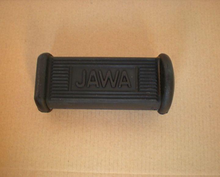 Guma stupačky predná s nápisom JAWA - Jawa Pérák,Kývačka,Panelka
