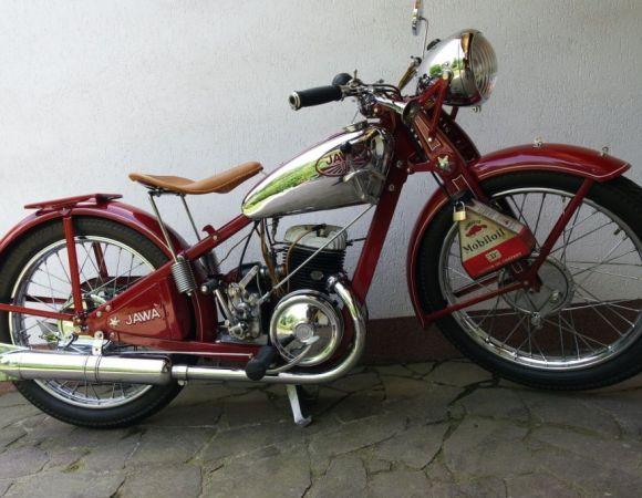 Motocykel Jawa 175 Speciál