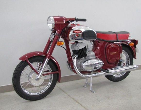 Motocykel Jawa 250/592