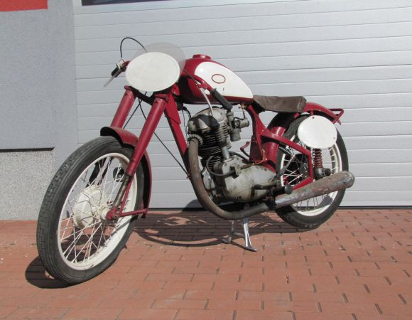 Motocykel Jawa 250 - 4takt, Sport