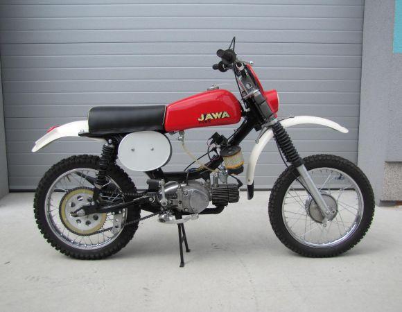 Jawa 50, Clasic úprava, motocros