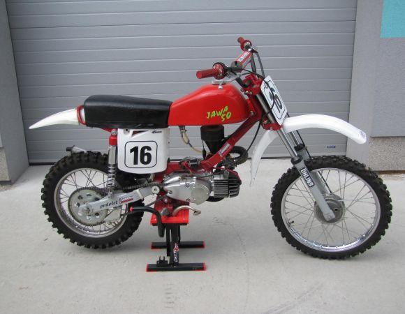 Jawa 50, Sport úprava-motocros